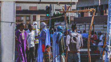 Centre ville de Nouakchott, 03/04/2020 Crédit photo: Lamine Sy