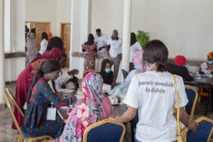 Journée Mondiale du diabète à la Région de Nouakchott @ Photo: Daouda Corréra