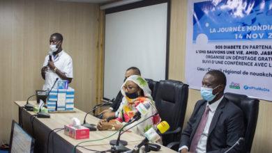 Journée Mondiale du diabète à la Région de Nouakchott @ Photo: Daouda Corréra 14/11/2020