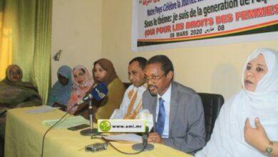 Au centre en costume gris, M. Diallo Amadou Samba nouveau ministre SG du gouvernement